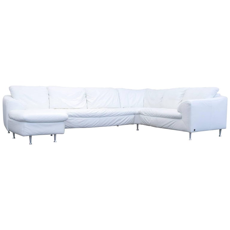 willi schillig designer corner sofa white couch modern at. Black Bedroom Furniture Sets. Home Design Ideas
