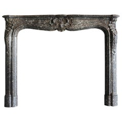Antique Marble Fireplace - 809
