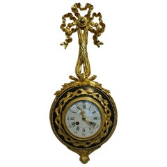 French Ormolu and Patinated Cartel Clock by S.Marti, Paris, circa 1900