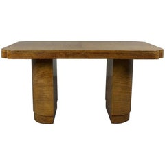 Art Deco Satinwood Table