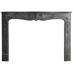 Antique Marble Fireplace - 805