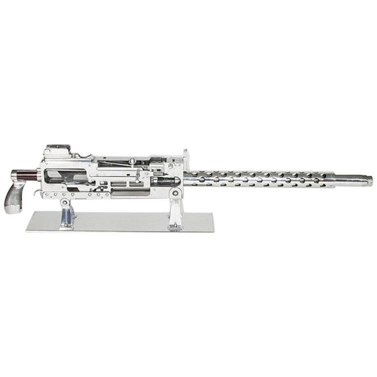 Browning Caliber 30 Engineering Demonstration Machine Gun