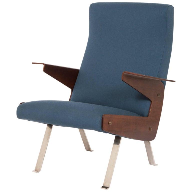 Rare Armchair by Joseph-André Motte 1