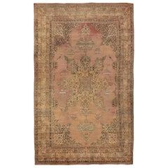 Large Oriental Oversized Antique Kerman Persian Rug