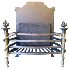 Antique Thomas Elsley Fire Basket