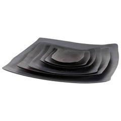 Medium Anthracite Serving Platter