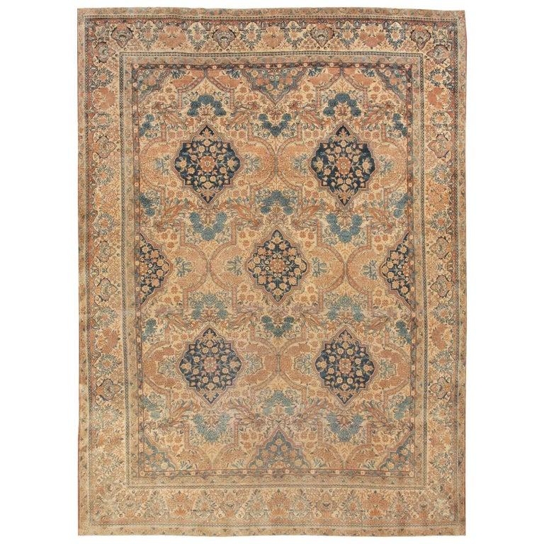 Antique Persian Kerman Rug For