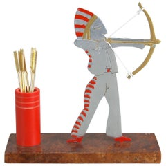 American Indian Cocktail Stick Set by Sudre