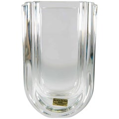 Göran Warff for Kosta Boda, Crystal Vase