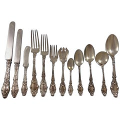 Virginiana by Gorham Sterling Silver Flatware Set 8 Service 111 Pcs No Monogram!