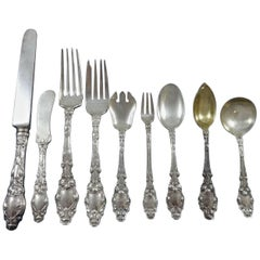 Virginiana by Gorham Sterling Silver Flatware Set for 8 Service 76 Pieces Dinner