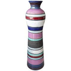 Tall Bitossi/Raymor Cambogia Vase, Ettore Sottsass, 1950s