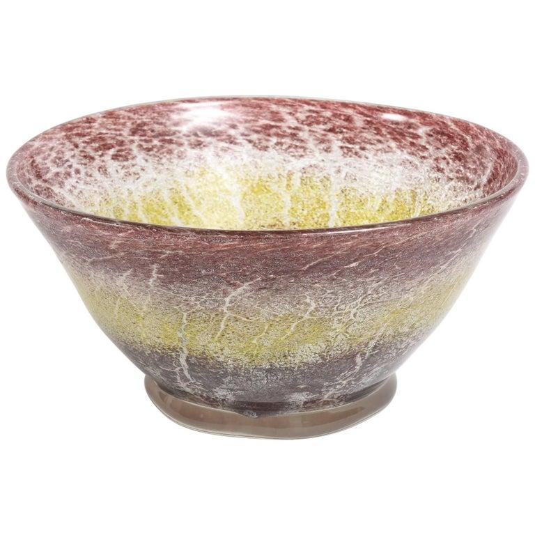 WMF Vintage Ikora Glass Bowl