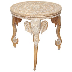 Tripod Elephant Side Table