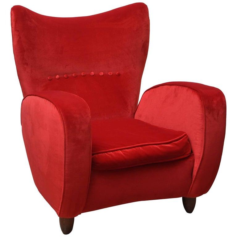 Red Velvet Armchair 28 Images Red Velvet Armchair By