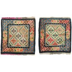 Pair of Tibetan Rug Mats