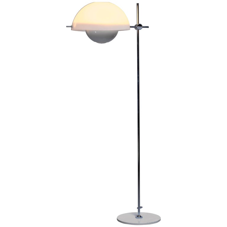 Baltensweiler Rare Floor Lamp, Switzerland, 1960s