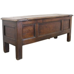 Antique French Chestnut Coffer