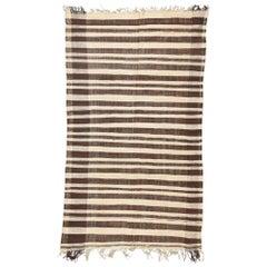 Vintage Moroccan Stripe Kilim Rug