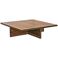 Shimna Plus Black Walnut Minimal Coffee Table