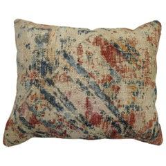 Distressed Soumak Rug Pillow