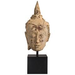 Ayunthia Period Thai Buddha Bust