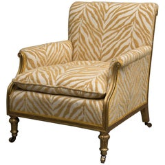 19th Century Upholstered Armchair