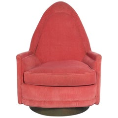 Milo Baughman Swivel Chair