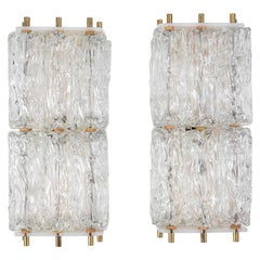 Pair of Large Kalmar Sconces