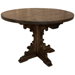 19th Century Gothic Solid Pine Centre Table