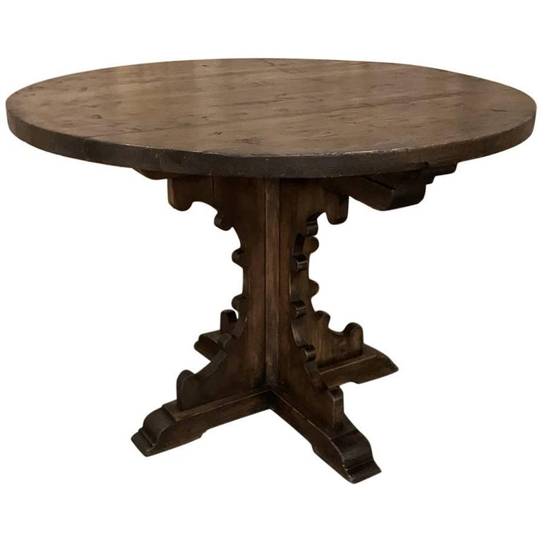 19th century gothic pine centre table for sale at 1stdibs for Furniture centre table