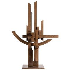 """Marino Di Teana, Hommage Aux Sciences, """"Nancy"""", Sculpture, France, 1978"""