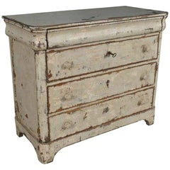 Italian 19th Century Painted Commode