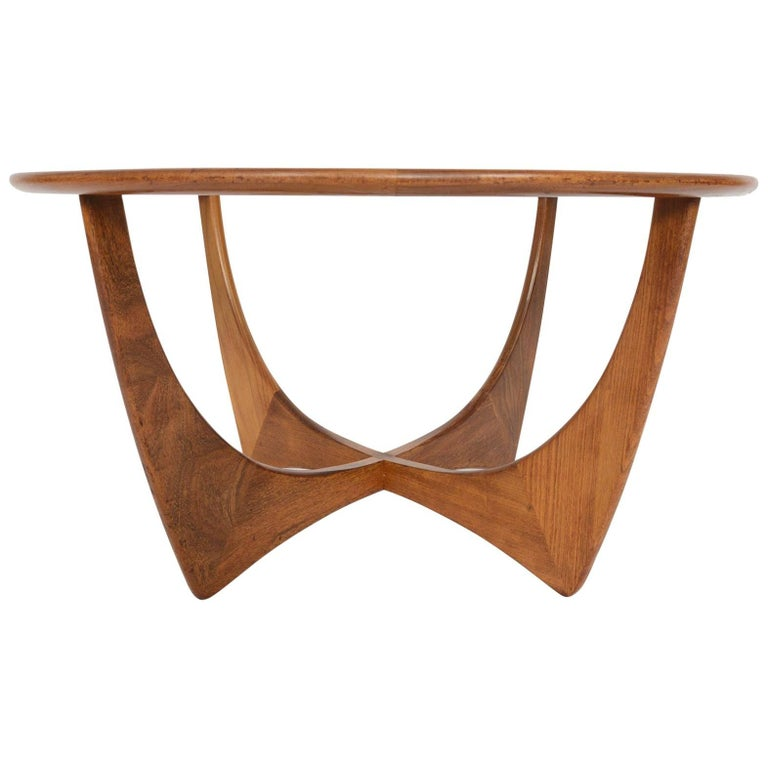 Round G Plan Astro Mid-Century Modern Coffee Table In