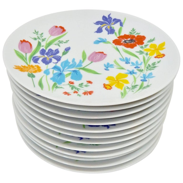 Heinrich, Germany Set of 12 Plates