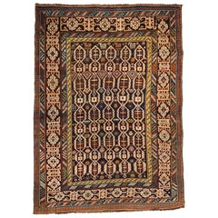 Antique Caucasian Kuba Shirvan Rug