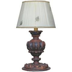19th Century Urn Table Lamp