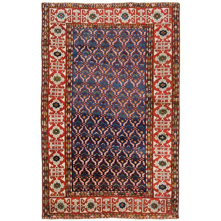 Outstanding Antique Caucasian Quba Rug