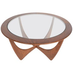 Round G Plan Astro Mid-Century Modern Coffee Table in Afromosia #2