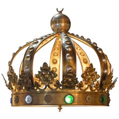 Crown Pendant Chandelier
