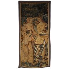 Vertical 17th Century Flanders Tapestry