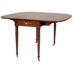 Late 18th Century Mahogany Pembroke Dining Table