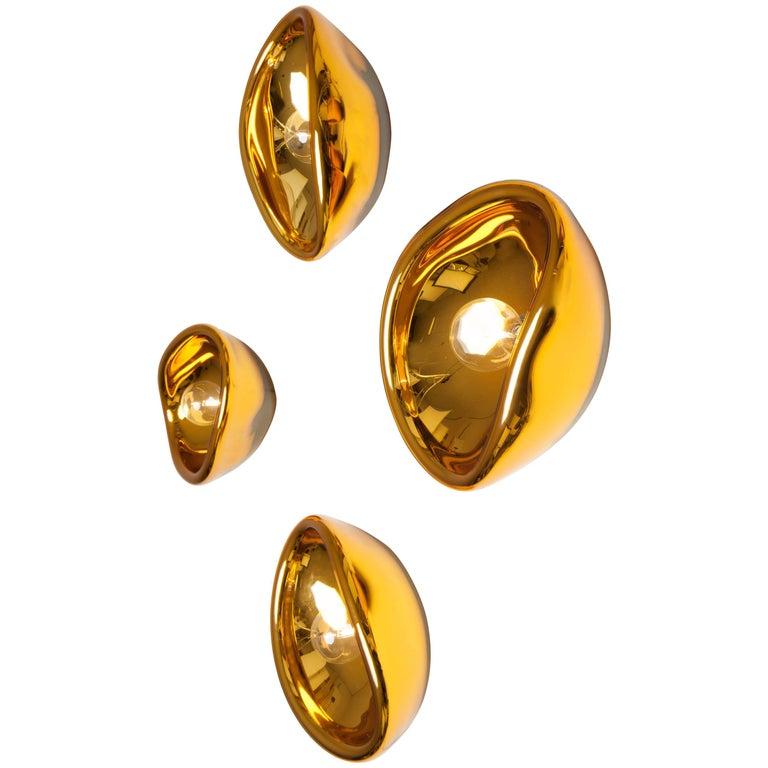 Aurum Gold Glass Sconces, Alex de Witte