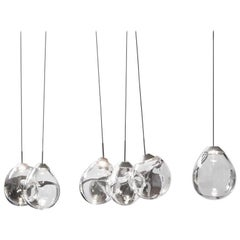 'M...' Blown Glass Pendants by Alex de Witte