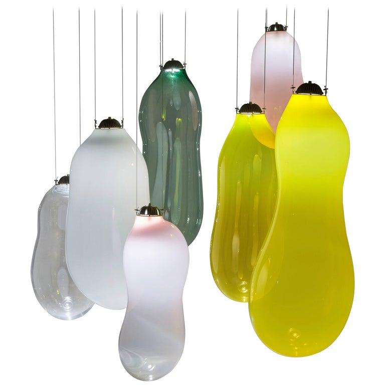 Big Bubble Pendants, Colored Edition, Alex de Witte