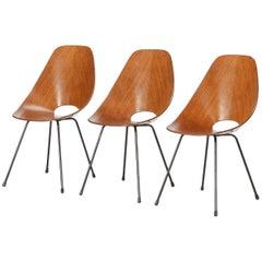 Vittorio Nobili Madea Chairs Fratteli Tagliabue, 1950s