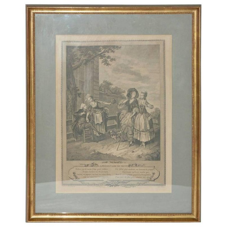 Copy of 18th Century French Engraving