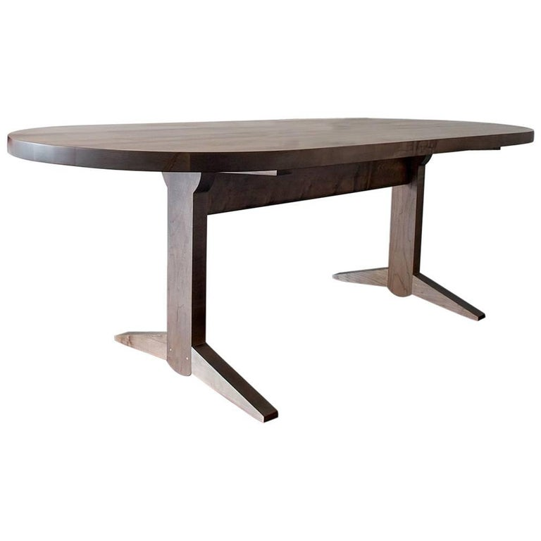 Osland Dining Table, Shaker Inspired Trestle Table