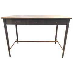 Paul McCobb for Connoisseur Collection Grey Lacquered Desk