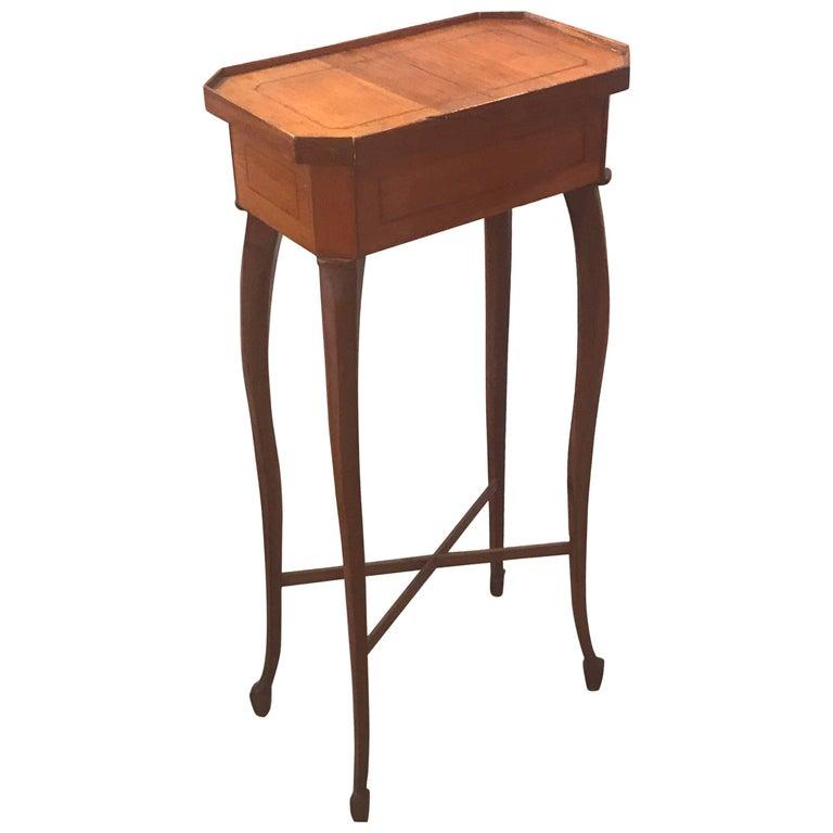 Small Biedermeier 19th Century Drinks Side Table